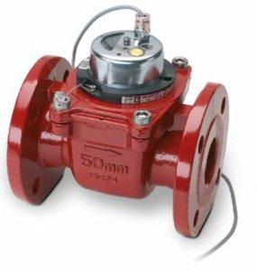 Счетчик для отопления Zenner  WPH-H-I (импульсный) Dn50 фланцевый