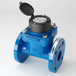 Счетчик сточных вод Вольтман<br>а Zenner WI-I (импульсный), Dn50