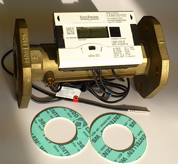Ультразвуковой теплосчетчик Compact III ultra S3