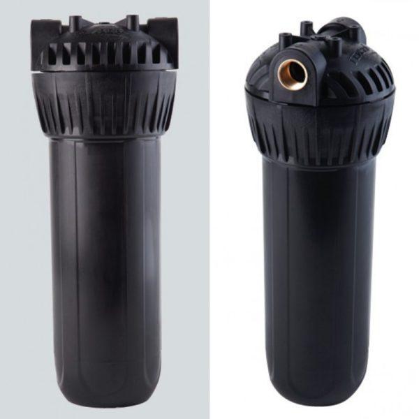 """Корпус Гейзер 10SL 3/4"""" черный для горячей воды"""