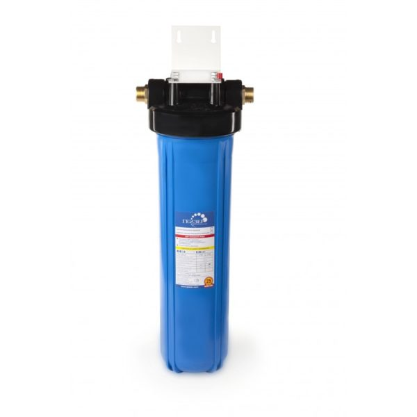 """Корпус Гейзер 20BB 1"""" синий для холодной воды"""