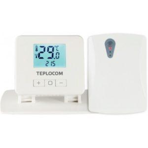 Термостат комнатный Бастион Teplocom TS-2AA/3A-RF, беспроводной, реле 250В, 3А