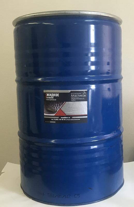 Жидкое стекло натриевое (170 л)