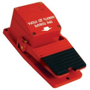 """ИО 101-5/2С """"Черепаха-2С""""        :Извещатель охранный ручной (ножной) точечный электроконтактный"""