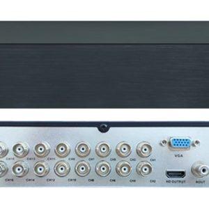 Линия XVR 16 H.265        :Видеорегистратор мультиформатный 16-канальный