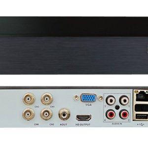 Линия XVR 4 H.265        :Видеорегистратор мультиформатный 4-канальный