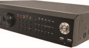 MDR-U16140        :Видеорегистратор AHD 16-канальный