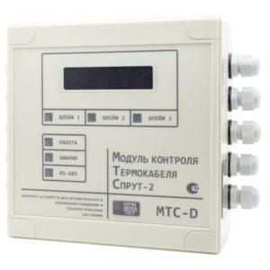 МТС-D (центральный блок)        :Модуль контроля термокабеля