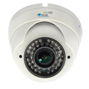 МВК-MV1080 Strong (2,8-12)        :Видеокамера мультиформатная купольная уличная антивандальная