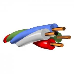 ПКСВ 4х0,5        :Провод кроссовый станционный с изоляцией из поливинилхлоридного пластиката