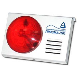 Призма 201        :Оповещатель охранно-пожарный комбинированный свето-звуковой