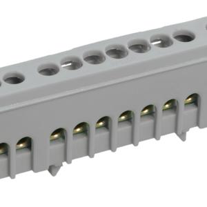 """Шина L """"фаза"""" ШНИ-6х9-10-К-Ср (YNN10-69-10KD-K02)        :Шина в корпусном изоляторе на DIN-рейку"""