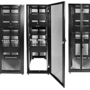 ШТК-СП-48.8.12-48АА-9005        :Шкаф серверный ПРОФ напольный