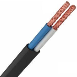 ШВВП 2х0,5 мм² черный (01-8083-6)        :Провод соединительный с двумя жилами
