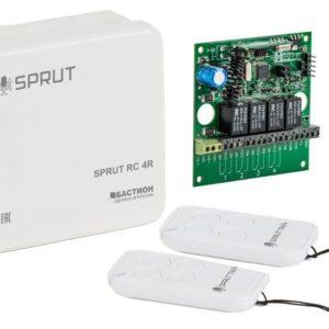 SPRUT RC 4R        :Комплект радиоуправления тревожной сигнализацией