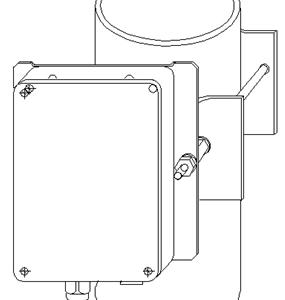 УЗК-КС110        :Узел крепления радиоволновых извещателей