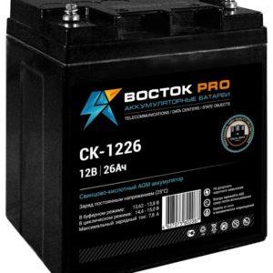 Восток СК 1226        :Аккумулятор герметичный свинцово-кислотный