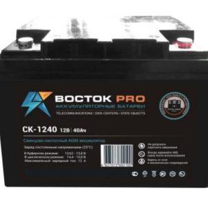 Восток СК 1240        :Аккумулятор герметичный свинцово-кислотный