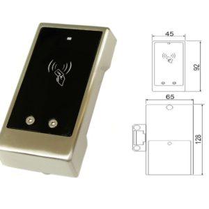 Z-695 (серебро)        :Замок со встроенным контроллером