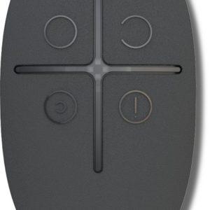 Ajax SpaceControl (black)        :Брелок 4-х кнопочный с обратной связью