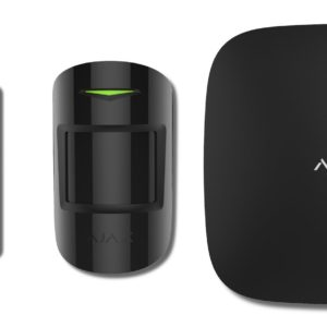 Ajax StarterKit (black)        :Комплект радиоканальной охранной сигнализации