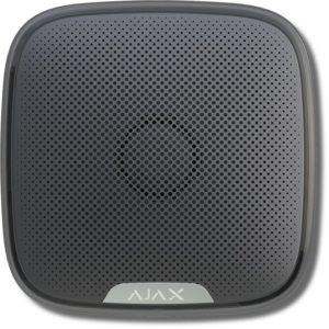 Ajax StreetSiren (black)        :Оповещатель свето-звуковой радиоканальный