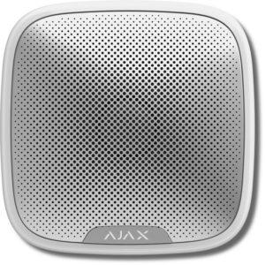 Ajax StreetSiren (white)        :Оповещатель свето-звуковой радиоканальный