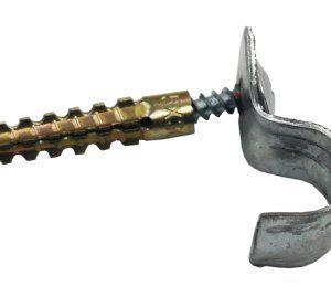 """Дюбель-хомут """"клоп"""", однолапковый, 21-22 мм (100 шт)        :Дюбель"""