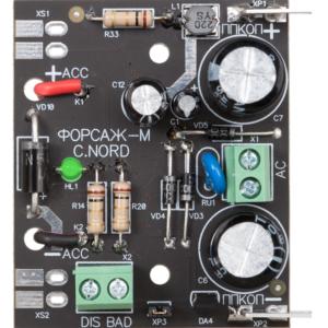 Форсаж-М        :Блок контроля аккумуляторов