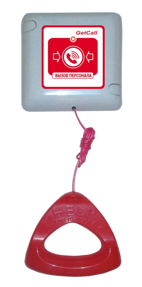 GC-0423W1        :Проводная влагозащищенная кнопка вызова со шнуром