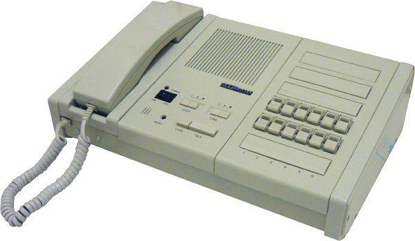 GC-1036F2 (12 аб.)        :Пульт селекторной связи