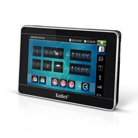INT-TSI-BSB (цвет корпуса - черный-серебро-черный)        :Клавиатура управления для контрольных панелей