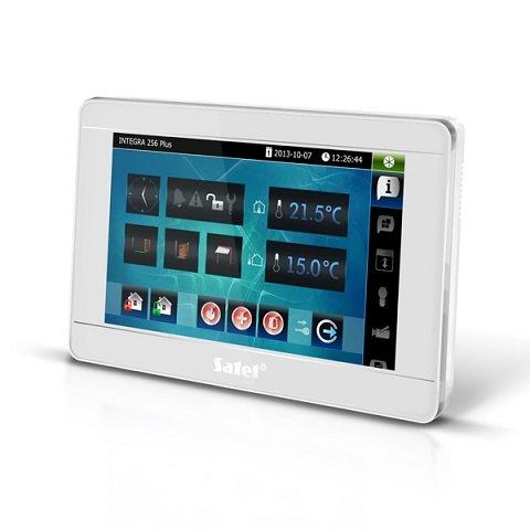 INT-TSI-SSW (цвет корпуса - серебро-серебро-светлое серебро)        :Клавиатура управления для контрольных панелей