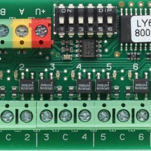 JB-118N        :Блок релейный сигнальный адресный, восемь выходов