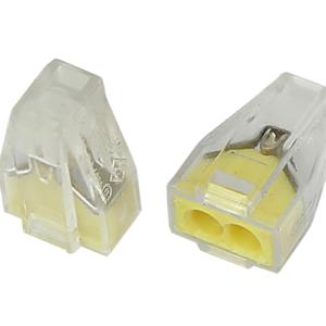 Экcпресс-клемма, 2-проводная до 2,5 мм², прозрачная 773-322 REXANT (07-3220)        :Клеммник для провода