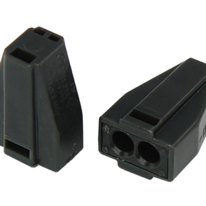 Экспресс-клемма с пастой, 2-проводная до 2,5 мм², серая 773-302 REXANT (07-3020)        :Клеммник для провода