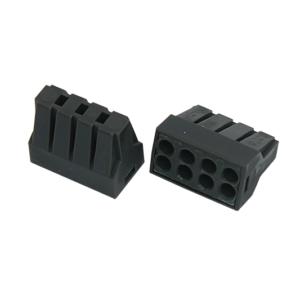 Экспресс-клемма с пастой, 8-проводная до 2,5 мм², серая 773-308 REXANT (07-3080)        :Клеммник для провода