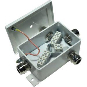 КМ-О (8к*6,0)-IP66-d, два ввода        :Коробка монтажная огнестойкая