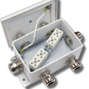 КМ-О (8к*6,0)-IP66-d шесть вводов        :Коробка монтажная огнестойкая