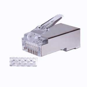 Коннекторы 8P8C FTP Cat.6 3U (RJ-45) (100шт) (10-0202)        :Разъем RJ-45
