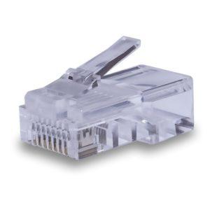 Коннекторы 8P8C UTP Cat.5e (RJ-45) (100шт) (10-0209)        :Разъем RJ-45