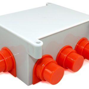 Коробка распределительная 80-0890 для заливки бетоном безгалогенная (HF) 118х76х60        :Коробка распределительная