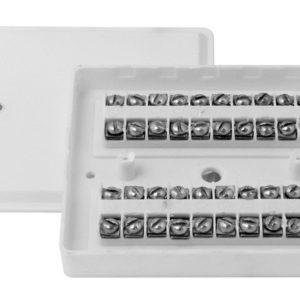 КРТП 10 (КРТП 10х2)        :Коробка телефонная распределительная плоская
