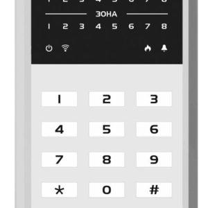 МИРАЖ-КД-04 (grey)        :Кнопочная кодовая панель
