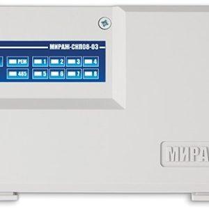 Мираж-СКП08-03 :Контрольная панель сетевая