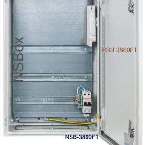 NSB-3860F2 (B386H0F2)        :Шкаф монтажный без нагревателя на DIN-рейку