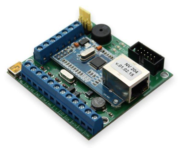 NV 204        :Охранная контрольная панель с Ethernet коммуникатором