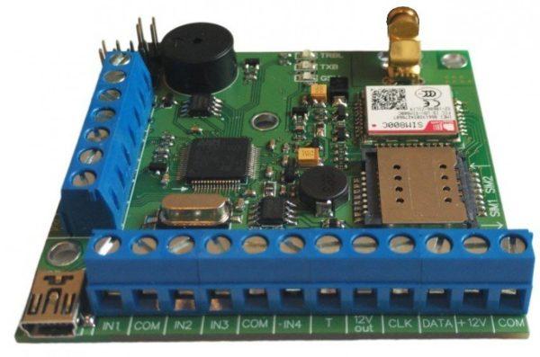 NV 206        :NV 206, охранная контрольная панель с GSM передатчиком