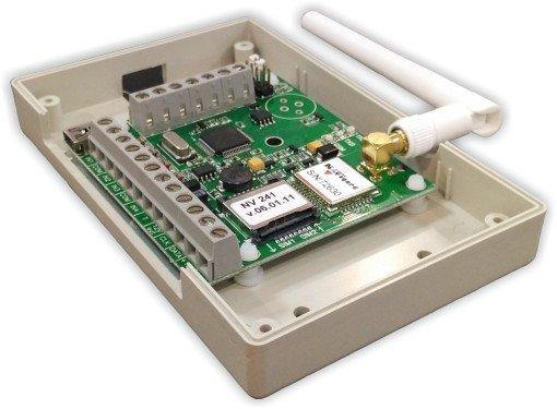 """NV 241        :Специализированный GSM-GPRS передатчик для оборудования Болид под управлением ПКиУОП """"С2000/C2000M"""""""