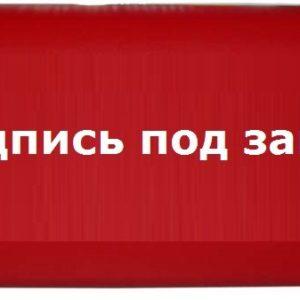 """Омега 1х11 """"Надпись под заказ""""        :Световое табло"""